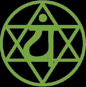 Anahata chakra symbol